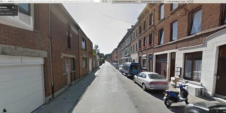 Menace terroriste: perquisitions à Ensival (Verviers)