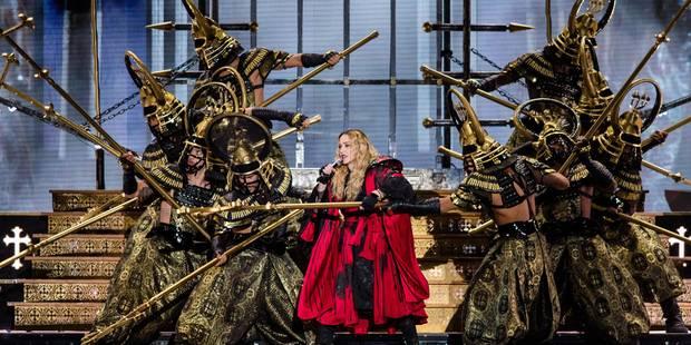 Madonna voit la vie en rose à Anvers - La DH