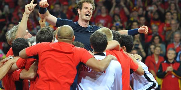 """Andy Murray: """"Jamais été autant touché après une victoire"""" (PHOTOS + VIDEOS) - La DH"""