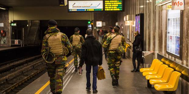 Menace terroriste à Bruxelles: voici à quoi s'attendre ce lundi - La DH