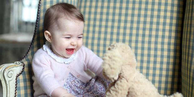 De nouveaux portraits de la princesse Charlotte d�voil�s