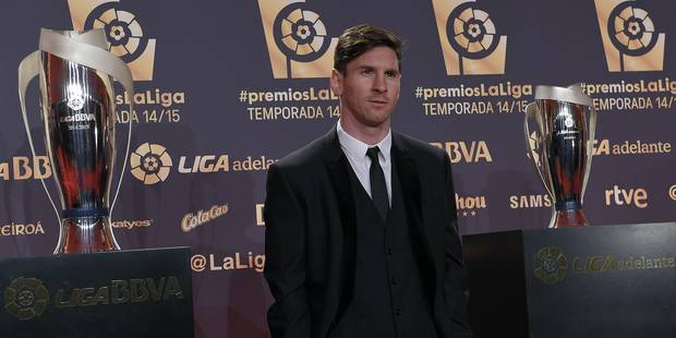 Lionel Messi élu meilleur joueur et meilleur attaquant de Liga - La DH