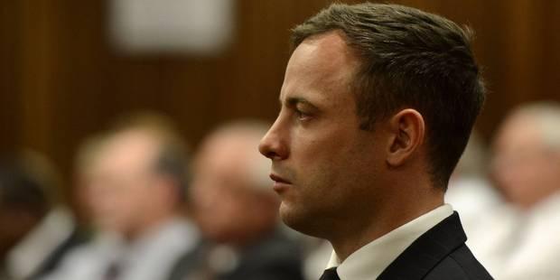 Pistorius retourne derrière les barreaux (Officiel) - La DH