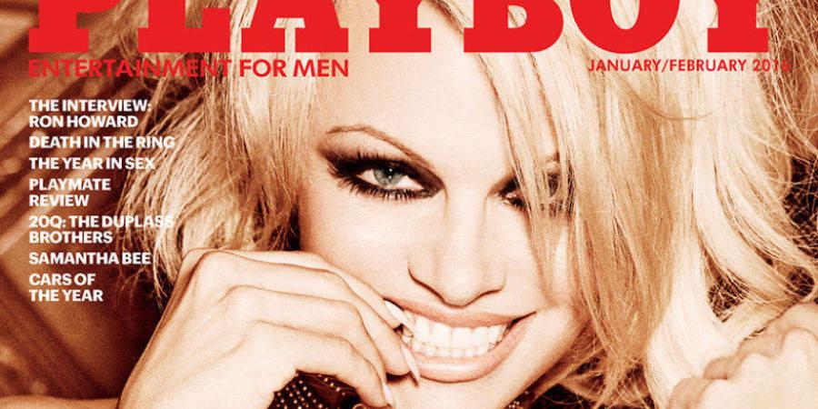 Pamela Anderson en couverture du dernier numéro de Playboy (Photo)