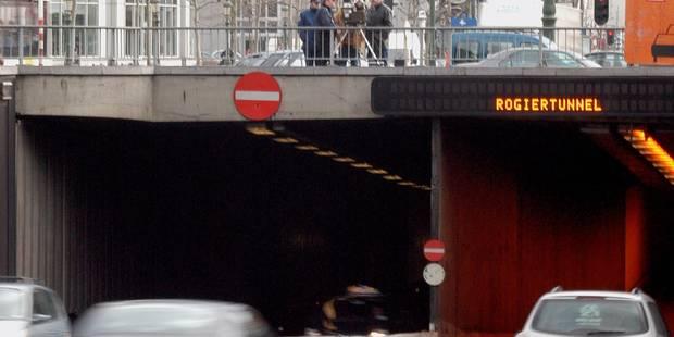 Bruxelles: un piéton renversé à la sortie du tunnel Rogier - La DH