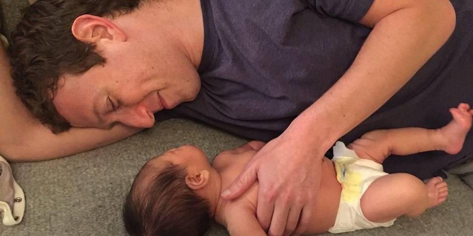 La petite Max, fille de Mark Zuckerberg, déjà star sur Facebook