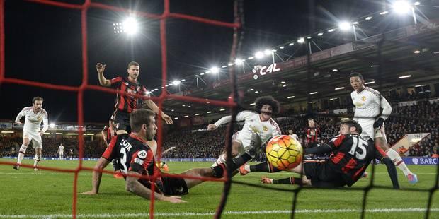 Belges à l'étranger: premier but de la saison pour Fellaini, mais défaite pour Manchester United (VIDEO) - La DH
