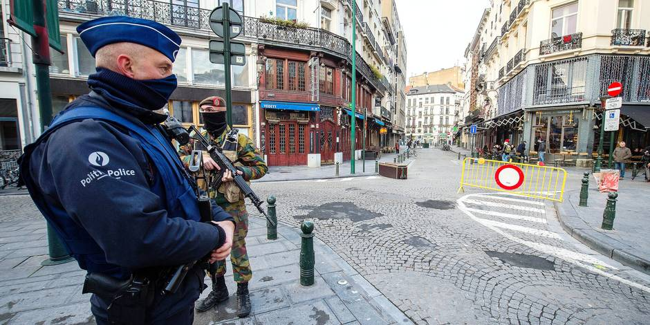 Bruxelles, Charleroi, Liège,... L'état d'alerte a fait chuter la délinquance ! - La DH