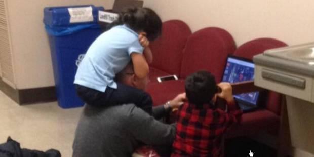 Le beau geste de ce professeur envers une maman étudiante - La DH