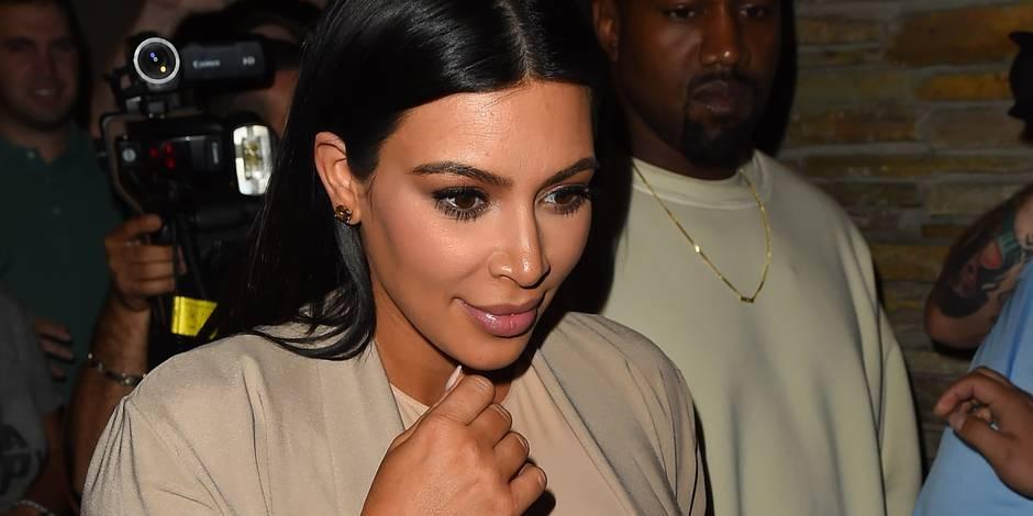 Pour éviter de déprimer, Kim Kardashian mange son placenta