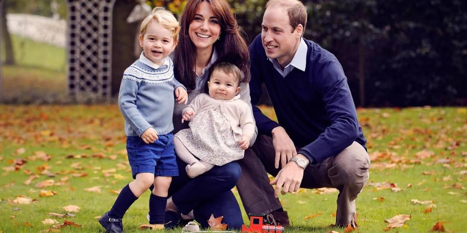 Kate, William, George et Charlotte : la belle photo de Noël