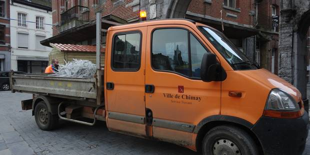 Chimay: le charroi communal bientôt pucé - La DH