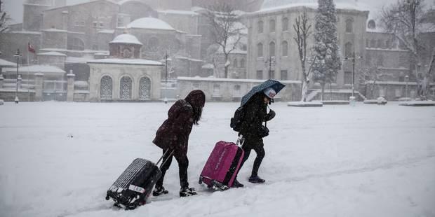 Turquie : plus de 300 vols annulés à cause de la neige à Istanbul - La DH