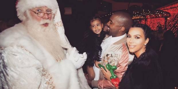Kim Kardashian dévoile une première photo de son fils Saint - La DH
