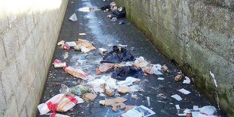 Manage: les sacs-poubelle de la honte