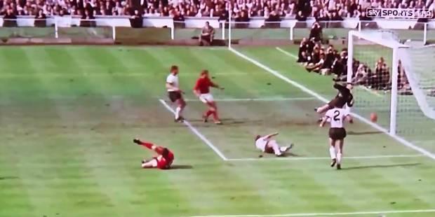 Finale de la Coupe du monde 1966: la frappe de Geoff Hurst a-t-elle franchi la ligne ? - La DH