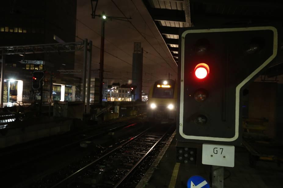 Gr ve du rail plus d 39 un train sur trois l 39 heure de for Hotel al heure liege