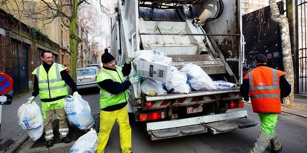 Un peu moins de déchets produits en Région bruxelloise