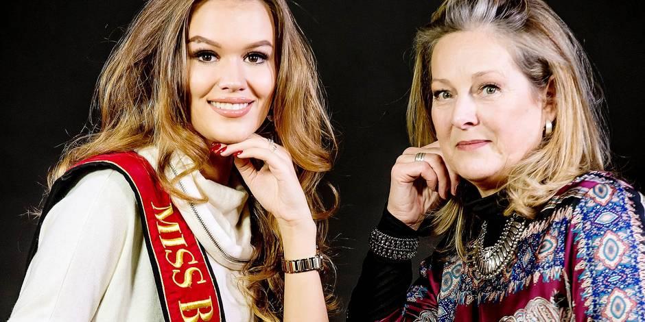 Miss Belgique 1981 Dominique Van Eeckhoudt Miss Belgique 2015 Annelies Toros