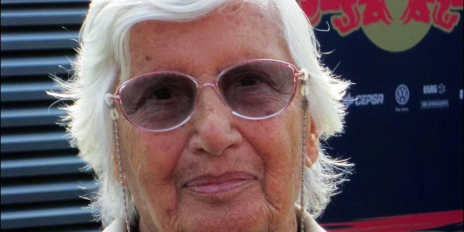 Décès de l'Italienne Maria de Filippis, première femme pilote de F1