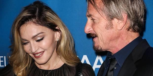 """Je t'aime Sean"", Madonna déclare sa flamme à Sean Penn - La DH"