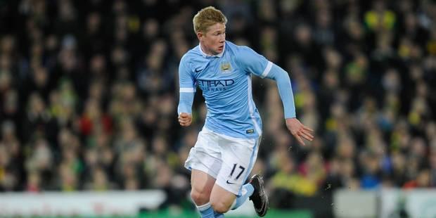 Kevin De Bruyne pour la 3e fois élu Joueur du mois de Manchester City - La DH
