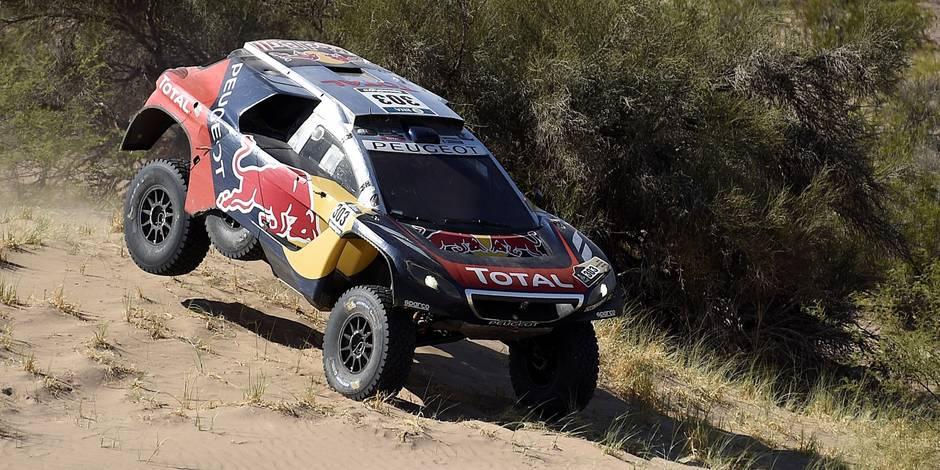 Dakar: victoire de Carlos Sainz (Peugeot) qui devient leader