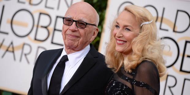 Rupert Murdoch fiancé à l'ex de Mick Jagger ! - La DH