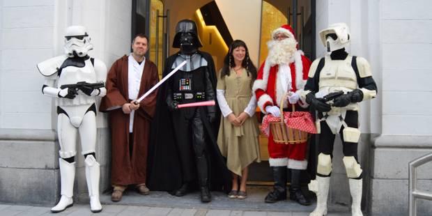 La force a été avec le Père Noël à Tournai - La DH