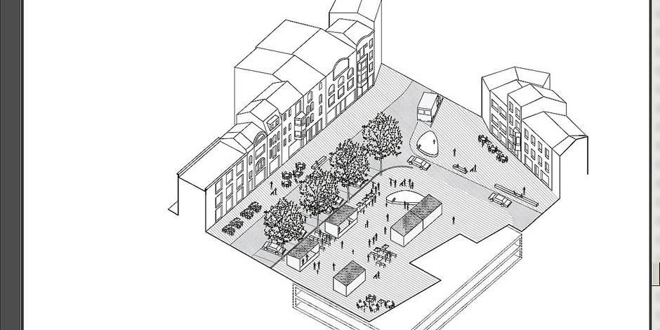 Watermael-Boitsfort: Le nouveau visage de la Place Keym