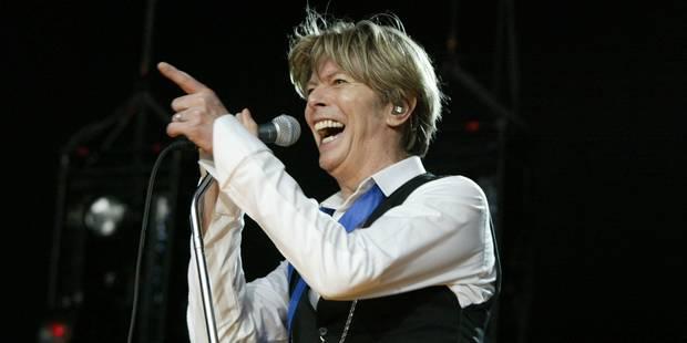 David Bowie en tête du palmarès américain des albums, une première - DH.be