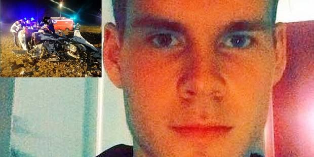 Terrible accident � Wangenies: Luka Ledoux a perdu la vie dans l'Audi TT de son ami