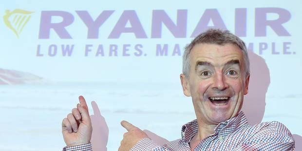 Ryanair lancera huit nouvelles lignes depuis Zaventem et Charleroi à l'hiver prochain