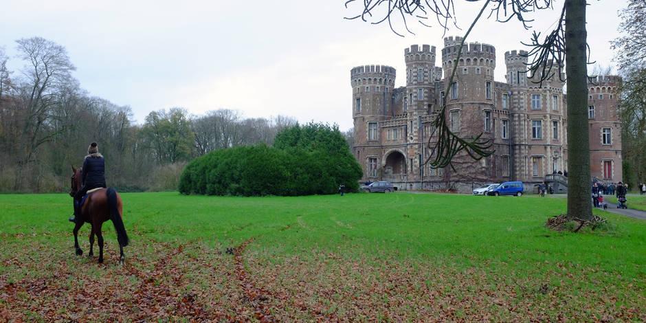 Le château de Moulbaix adjugé à 3,725 millions d'euros
