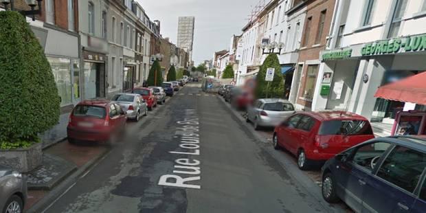La Louvière : La rue De Brouckère fermée pour cause d'affaissement de chaussée - La DH