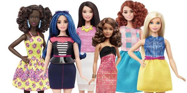 Ça y est, Barbie a pris quelques kilos et s'ouvre à la différence ! - La DH