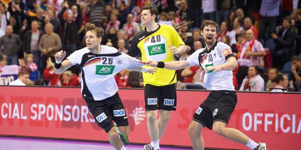 Euro de handball: L'Allemagne défie l'Espagne en finale - La DH