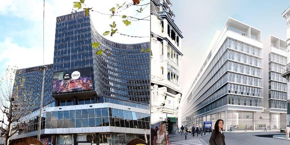 Exclusif: l'administration bruxelloise déménagera au Centre 58