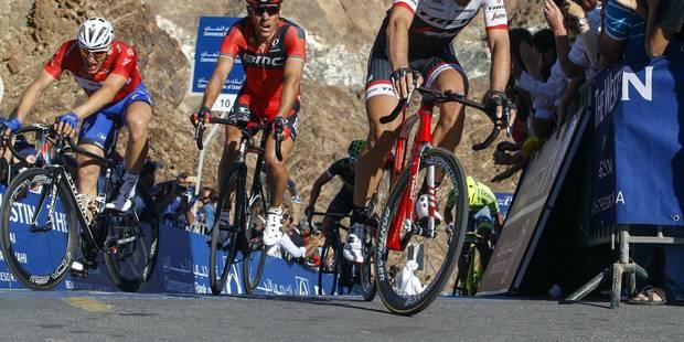 """Philippe Gilbert après le Tour de Dubaï: """"Pas facile de faire la différence dans ce type de course"""" - La DH"""