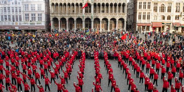 Bruxelles fête le Nouvel An chinois pour la première fois! (PHOTOS)