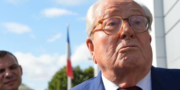 Le Pen père boycotte son nouveau procès après ses propos sur les chambres à gaz - La DH
