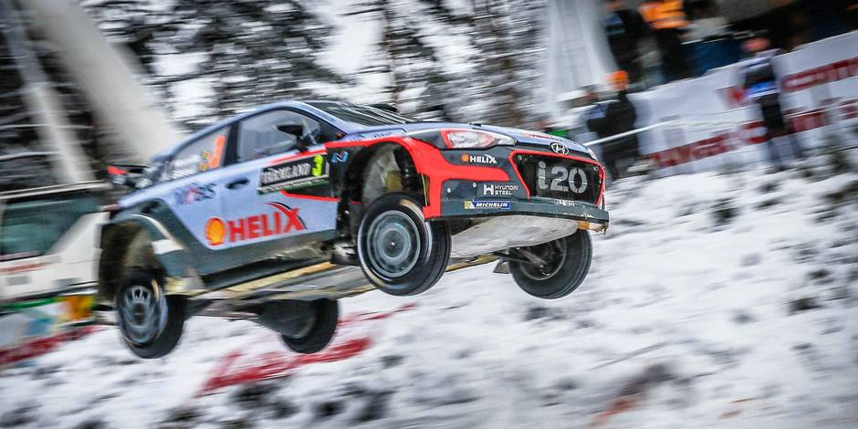 WRC: Thierry Neuville 14e du rallye de Suède