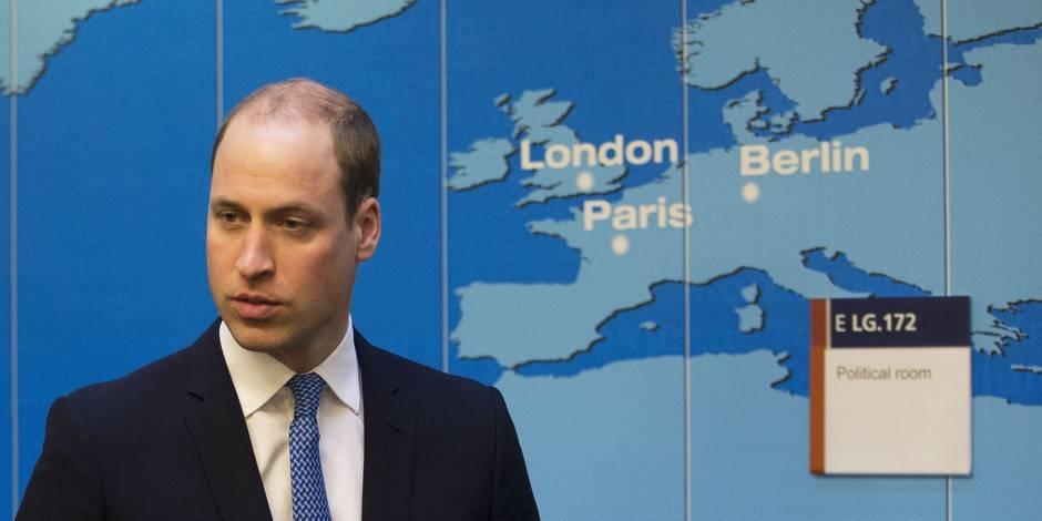 Le prince William semble appeler au maintien du Royaume-Uni dans l'UE