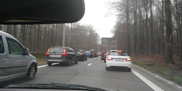 La circulation sur le ring intérieur de Bruxelles fortement perturbée - La DH