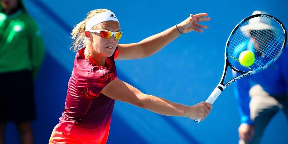 Doha: Kirsten Flipkens rejoint le tableau final