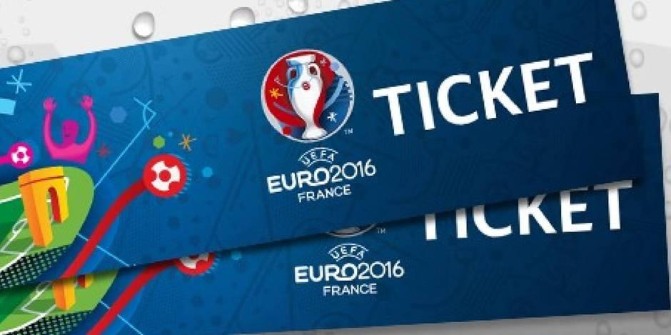 Euro 2016: 10.000 places supplémentaires à prix d'or pour les Belges