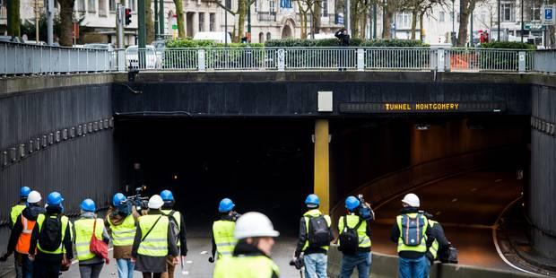Tunnels bruxellois : les accès au rond-point Montgomery restent ouverts - La DH