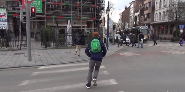"""Passage pour piétons: """"En général, je passe sans faire attention"""" (VIDEO) - La DH"""