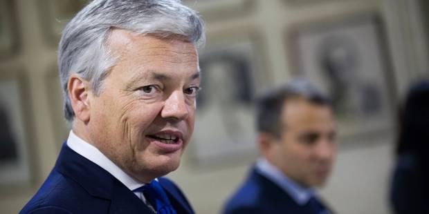 """Didier Reynders confirme l'""""encouragement"""" américain à la Belgique d'intervenir en Syrie - La DH"""