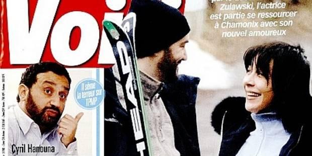 Sophie Marceau et Cyril Lignac au ski, en amoureux - La DH